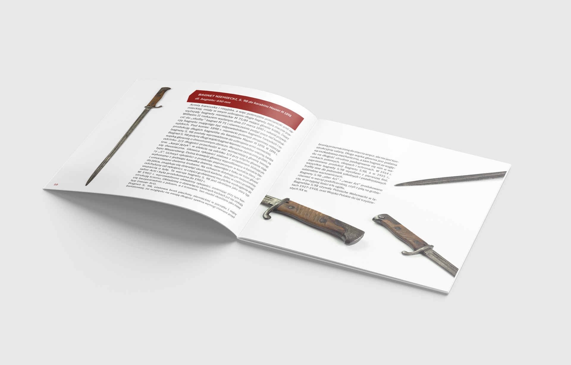 katalog - bagnety wielkiej wojny